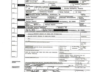 Tamerlan Tsarnaev's death certificate showed that he was shot in the firefight and then run over and dragged by a vehicle