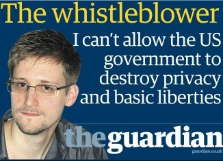 "Edward Snowden has said he acted to ""protect basic liberties for people around the world"" in leaking details of US phone and internet surveillance"