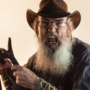 Si Robertson commercial shoot for Flextone Black Rack