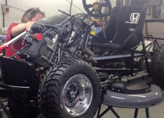 Honda engineers are racing to build the world's fastest lawnmower after being put up to the task by Top Gear Magazine