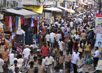 India looks set to overtake China as the world's most populous country from 2028