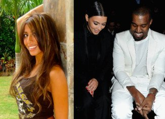 Leyla Ghobadi is claiming that rapper Kanye West cheated on pregnant girlfriend Kim Kardashian after they met at one of his shows