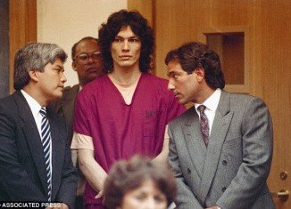 Night Stalker Richard Ramirez had shockingly green skin the day before he died