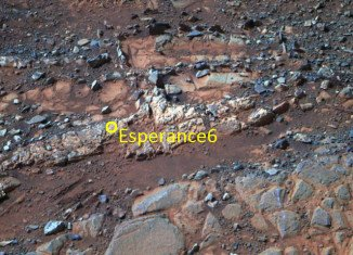 Opportunity Mars rover discovers Esperance rock with signs of water