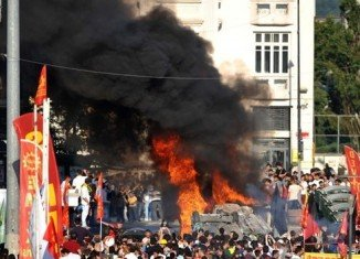 PM Recep Tayyip Erdogan says the continuing anti-government protests in Turkey do not constitute a Turkish Spring