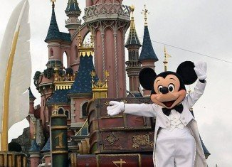 Saudi Prince Fahd al-Saud has spent some $20 million during a private visit to the Disneyland resort near Paris