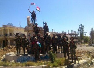 Syrian army has taken control of an UN-monitored crossing in the Golan Heights that had been overrun by rebel forces