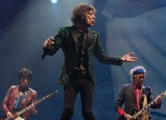 The Rolling Stones made their Glastonbury debut at Pyramid Stage