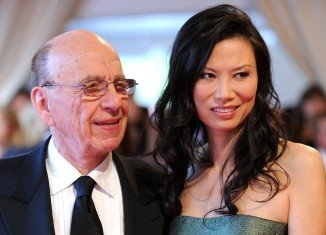 Wendi Deng Murdoch is the wife and soon to be the ex-wife of Rupert Murdoch