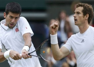Andy Murray won his first Wimbledon title and ended Britain's 77-year-wait for a men's champion with a brilliant victory over world number one Novak Djokovic