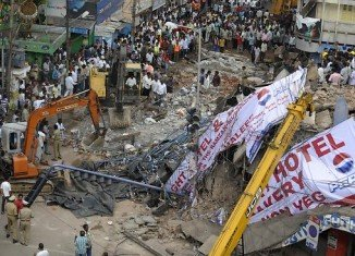 At least 12 people have been killed in the City Light hotel collapse in the southern Indian city of Secunderabad
