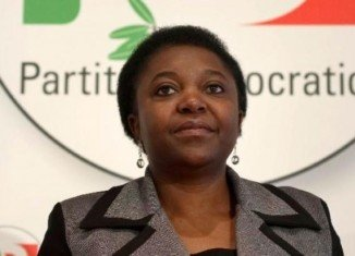 Cecile Kyenge, Italy's first black minister, had bananas thrown at her during a political rally