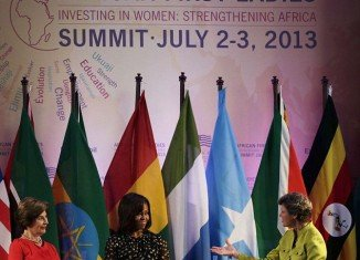 First Ladies Michelle Obama and Laura Bush attended the African First Ladies Summit in Tanzania where they complained about how the White House can feel like a prison