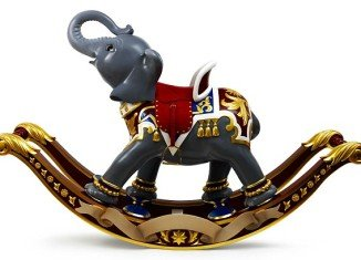 Gary Goldsmith has already been looking around for a baby gift for the new arrival and has his eye on a $100,000 rocking elephant he spotted in Royal Warranted jewellers Asprey