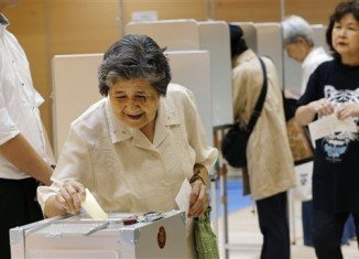 Japan is voting in upper house elections expected to deliver a win for Prime Minister Shinzo Abe