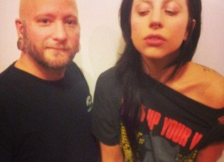 Lady Gaga reveals her newly pierced septum