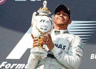 Lewis Hamilton dedicated Hungarian Grand Prix win to Nicole Scherzinger