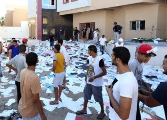 More than 1,000 inmates have escaped from a jail in the Libyan city of Benghazi