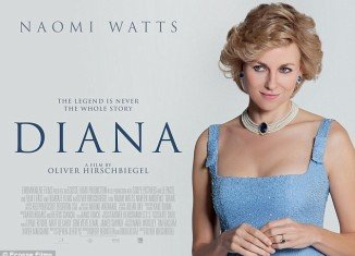 Naomi Watts is looking the spitting image of Princess Diana on the new poster of the highly anticipated biopic Diana