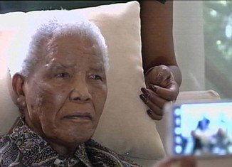 Nelson Mandela is being kept alive by a breathing machine and faces impending death