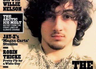 Sgt Sean Murphy has leaked images of Dzhokhar Tsarnaev during his capture in anger at the picture used by Rolling Stone magazine for its next cover