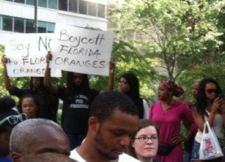 Trayvon Martin backers call for Florida boycott
