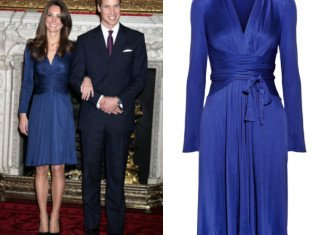 When Kate Middleton wore the sapphire blue Issa dress for her engagement announcement in 2010, she sparked one of the first of many Kate fashion frenzies