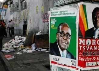 Zimbabwe is voting in fiercely contested presidential and parliamentary elections which have already been hit by fraud allegations
