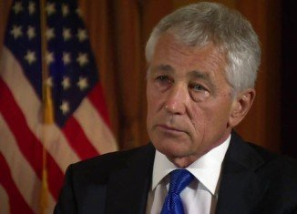 "Defense Secretary Chuck Hagel announced that the US forces are ""ready"" to launch strikes on Syria if President Barack Obama chooses to order an attack"