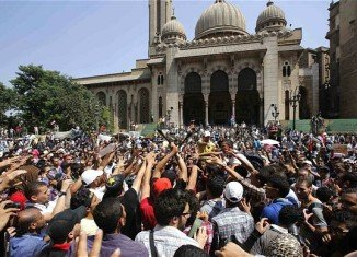 Egypt's security forces have cleared al-Fath mosque in Cairo after a long stand-off with Muslim Brotherhood supporters barricaded inside