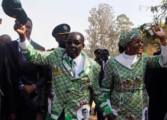 First official results from national assembly elections show that Robert Mugabe's Zanu-PF party is taking an early lead