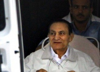 Hosni Mubarak has appeared in court, three days after being released from prison and placed under house arrest