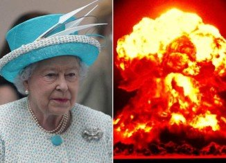 "In a Whitehall-written script, the Queen speaks of the ""madness"" of war"