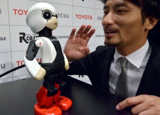 Japan has launched Kirobo into space to serve as companion to astronaut Kochi Wakat