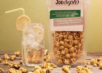 Joe & Seph's launched Gin & Tonic popcorn