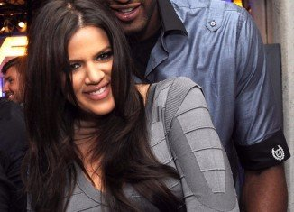 Khloe Kardashian has been accused of trying to punch Lamar Odom's alleged mistress Polina Polonsky
