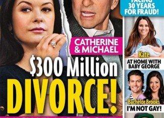 Michael Douglas and Catherine Zeta-Jones divorce
