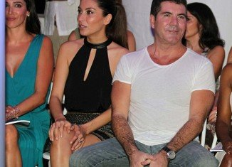 """Simon Cowell and Lauren Silverman had in fact begun their """"affair"""" long before her marriage ended"""
