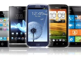 Smartphone sales exceeded feature phone sales for the first time in the April-to-June period