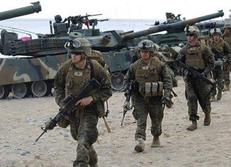 South Korea and the US have begun a new round of joint military exercises on Monday, the second to take place this year