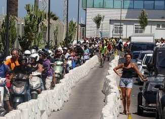 Spain increased border controls and announced it was considering a 50 euro fee to cross its border with Gibraltar