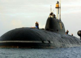 The submarine caught fire after an explosion in a Mumbai dockyard
