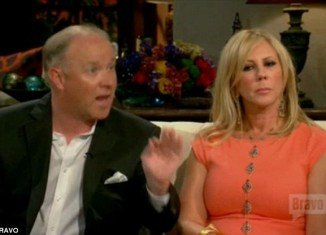Vicki Gunvalson of Real Housewives of Orange County has endured a very real rollercoaster ride with her on and off boyfriend Brooks Ayers