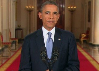 Barack Obama says he will pursue diplomatic efforts to remove Syria's chemical weapons