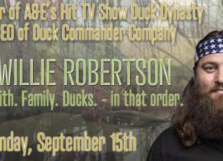 Duck Dynasty's Willie Robertson at Odessa's Crossroads Fellowship