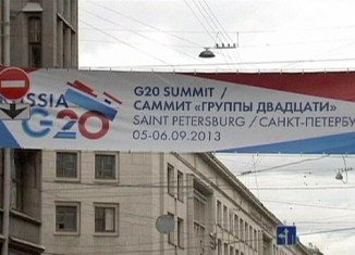 G20 leaders are meeting in Sankt Petersburg amid sharp differences over the crisis in Syria
