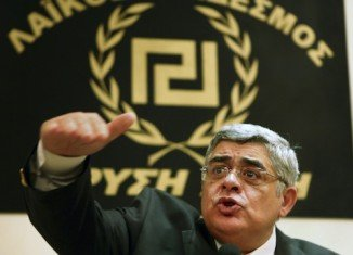 Golden Dawn leader Nikolaos Mihaloliakos has been arrested on charges of forming a criminal organization