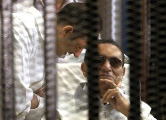 Hosni Mubarak appeared in court on charges of complicity in the killing of protesters during the 2011 uprising