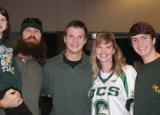 Jase and Missy Robertson and their children