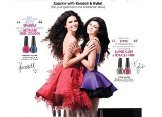 Kendall and Kylie Jenner made $100,000 each to lend their name to OPI nail polishes last year